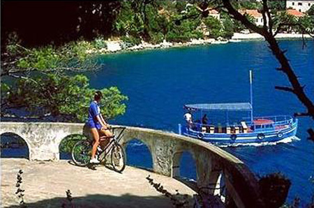 Biking in Dubrovnik