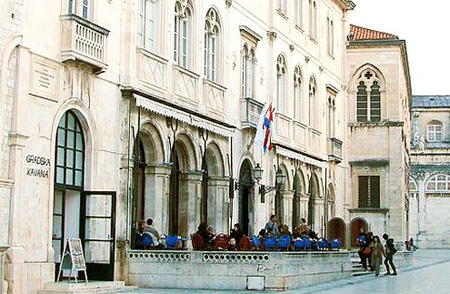 The City Caffe in Dubrovnik