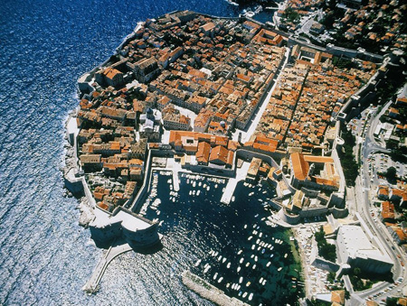 Panoramic flights in Dubrovnik
