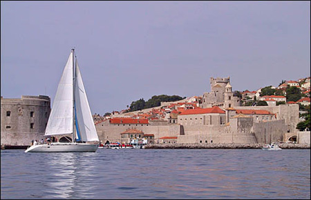 Sailing in Dubrovnik